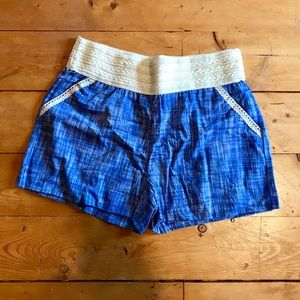 Pants - Shorts with lace band